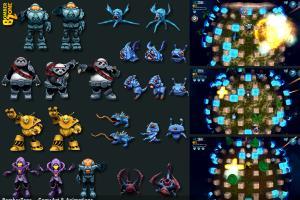 Portfolio for 2D / 3D game artist / animator