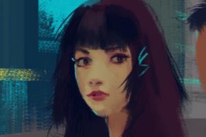 Portfolio for illustrator digital painter 2d artist