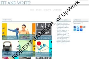 Portfolio for Health & Supplements Writer and Expert