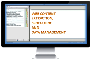 Portfolio for Web Data Extraction and Management