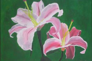 Portfolio for Acrylic Painting