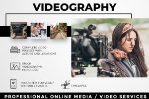 Portfolio for VIDEOGRAPHY