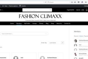 Fashion Magazine Site: http://beta2.fashionclimaxx.com/