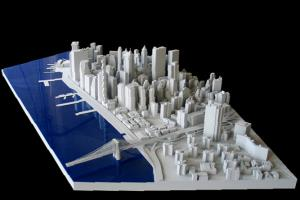 3d Architectural Prototype of San Francisco