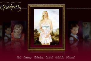 Website for artist Cristina Rodrigues