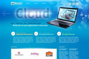 Website Design for Web Studio