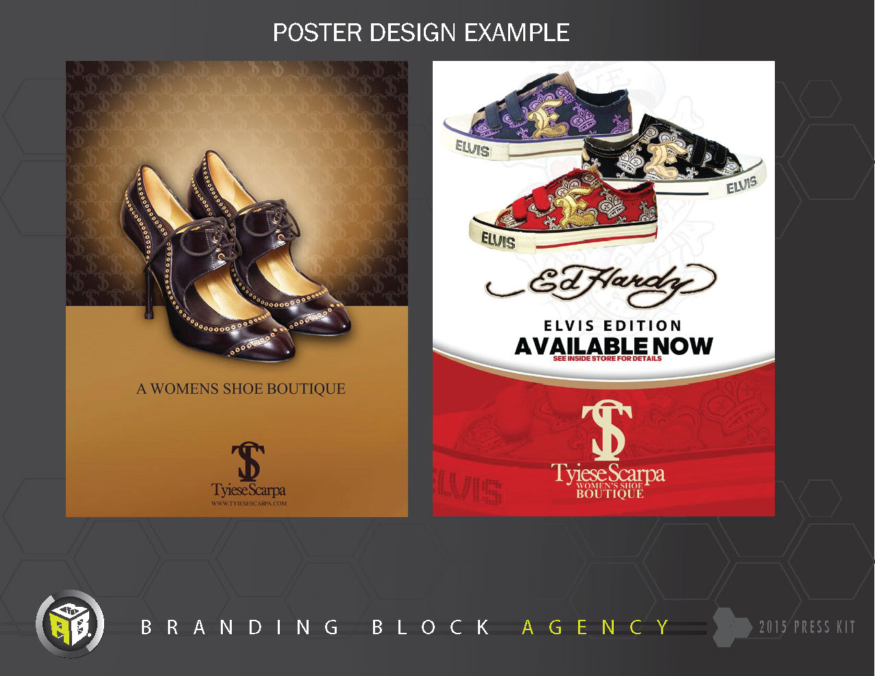 Poster design 99 - Print Digital Poster Design For High End Shoe Boutique Located In Memphis