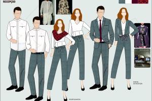 Portfolio for Fashion Design / Uniform Design