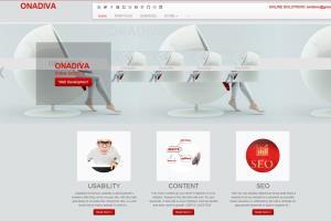Portfolio for ONADIVA  WEB  DESIGN