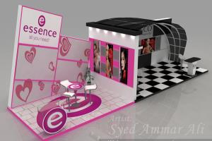 Portfolio for 3D Exhibition Stall (Unlimited Revision)