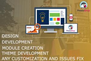 Portfolio for Design and Development of Prestashop Web
