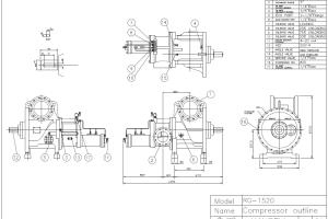 Portfolio for Technical drawings