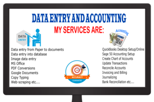 Portfolio for Accounting Clerk.