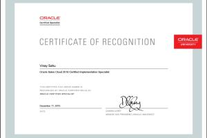 Portfolio for Oracle Sales Cloud + RightNOW CRM Expert
