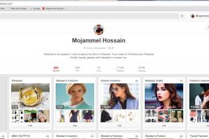 Portfolio for Pinterest Marketing & SMM Expert