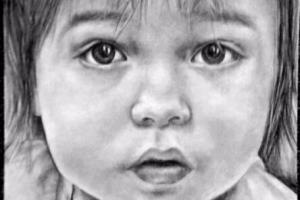 Portfolio for pencil portrait