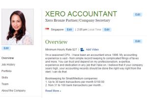 Portfolio for XERO ACCOUNTANT