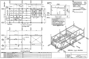 Portfolio for Steel Fabrication Shop Drawing