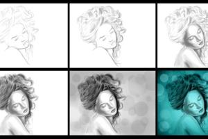Drawing, sketching, traditional and digital art