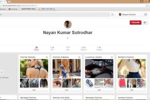 Portfolio for SMM/Pinterest Marketing Expert