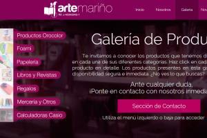 Portfolio for Website Design @ Adobe Muse