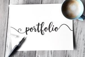 Portfolio for Video Editing , Graphic Designer