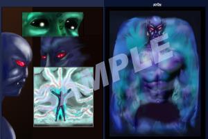 Portfolio for Comic Book artist, Portrait, Digital art