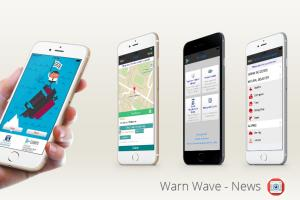 Warn wave - Social Networking