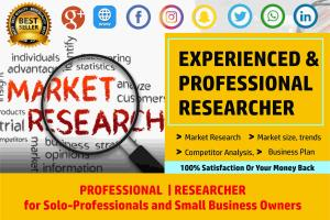 Portfolio for Comprehensive/ Deep Market Research