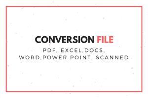 Portfolio for Microsoft file Convertion