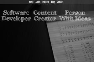 Portfolio for Python Web Developer