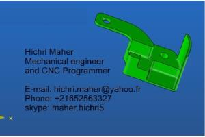 Portfolio for Mechanical Engineer_CNC Pogrammer
