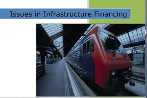 Infrastructure Financing