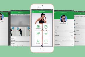 Portfolio for Mobile Apps (React Native, Xamarin)