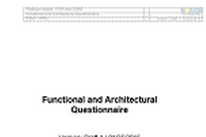 Functional and Architectural