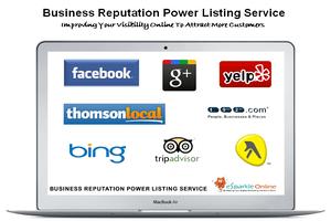 Portfolio for Business Reputation PowerListing Service