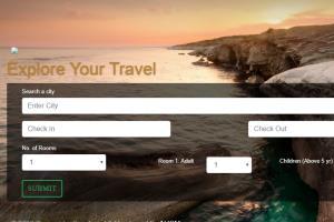 Portfolio for Travel Portal Development