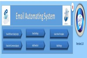 Portfolio for AUTOMATE OUTLOOK EMAIL USING VBA