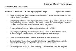 Portfolio for Fluid & Piping System Design Engineering