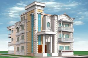 Portfolio for 3D modeling for Buildings