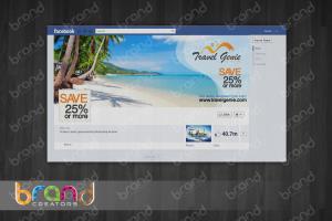 Portfolio for Social Media Cover Page Design