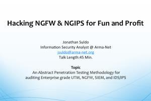 Portfolio for Information Security Analyst