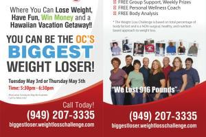 Weightloss Challenge Brochure by Jeff Saxon on Guru