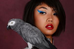 Portfolio for professional photo retouching