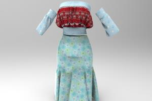 Portfolio for Female Clothing Design