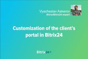 Portfolio for Bitrix24 CRM expert