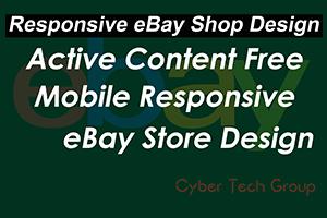 Portfolio for Create Responsive Ebay Store + Template