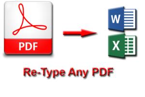 Portfolio for Word Processing Service