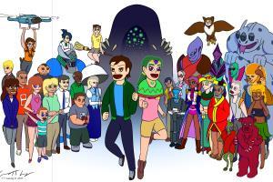 Portfolio for Character concept designer & illustrator