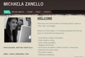 Portfolio for Web Content Writer